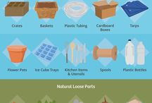 Loose parts outdoors