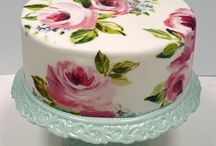 Baking and cakes / Itse leivottuja ja ihailemiani taideteoksia ja herkkupaloja...