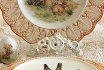 porcelán easter
