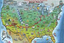 Route 66 historic / Route 66 historic