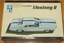 1960s Model Car Kits