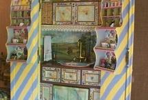 Painted Furniture: Armoires, Secretaries, Bookcases & Shelving / Painted armoires and secretaries. Armoir, Secretary, TV Cabinet