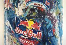 formule 1 paintings