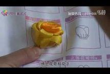 Rosas en cintas