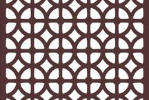 Geometric Patterns / Are you geometrically inspired? Browse our geometric patterns and view the color options on our website!