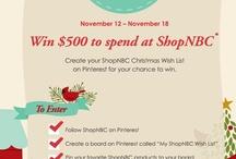My Shop NBC wish list / by CAF