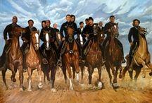 Black Cowboy Art Print Collection
