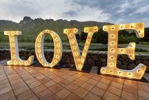 Weddings - Setups and Favours we've loved!