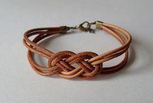 Leather jewelry design