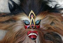 Traditional Dance Mask