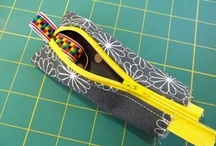 sewing bags and boxes