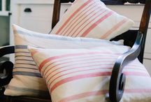 Luxe Linen / Accent pillows, throws, and bedding in high-quality, classic linen