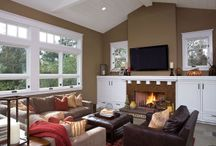 living room ideas / by Michelle Lewis