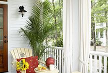 Patios, Porches and delightful spaces!  / by Andrea T