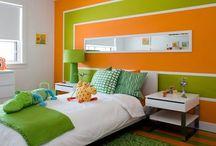 Decoración de dormitorios.