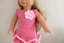 American girl doll crochet
