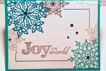 Let It Snow Cards / Snowflakes are so amazing... especially the ones created by Stampin' Up!!