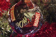 It's a superhero Christmas! 2014 / Christmas tree 2014