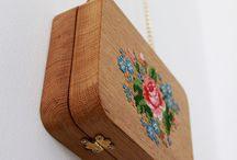 Drevené kabelky