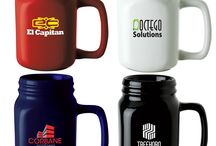 Branded Drinkware / These promotional drinkware are the perfect giveaway for trade shows, employee swag, or marketing campaigns. Choose from our trendy collections of mugs, tumblers, cups, growlers, thermoses, and more!