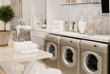 Dirty Laundry (laundry rooms) / The one chore I hate, must be done practically everyday. Why not make it pretty? / by Jenna Bouza Salinas