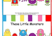 Monsters / by Peggy Knock