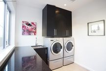 Custom Laundry & Mud Room / Custom Laundry Rooms by South Shore Cabinetry, Vancouver Island, BC