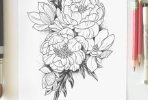 Flowers / Tattoo ideas of all kinds of flowers!