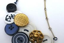 Button jewelry ideas / by Laurie Mullinax