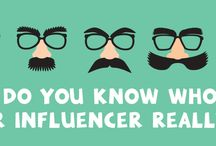 Influencer Marketing Tips / Resources to help your business use influencer marketing to strengthen and grow your presence social media presence.