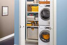 Washer cupboard