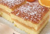 Torta all arancia cremosa