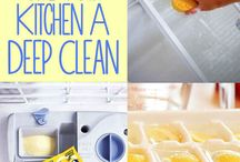 cleaning of kitchen