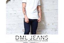 DML JEANS LOOKBOOK SS15 / Denim Merchants SS15 Lookbook