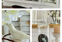 Springtime / Spring trends and decorating tips