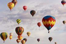 balloon y paisajes