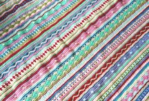 As we go stripe blanket