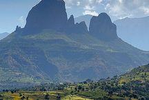 Africa - Ethiopia / Addis Abeba,  Abidjan, Abobo.. / Federalna Demokratyczna Republika Etiopii,  dawniej Abisynia – państwo położone we wschodniej Afryce. Większe miasta: Addis Abeba, Dire Daua, Mekelie, Bahyr Dar, Gonder...