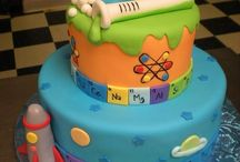 Science cakes