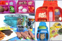 Healthy Lunch Box Ideas / Paleo, Gluten Free, Grain Free, and mostly Dairy Free selections