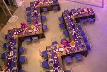 Reception Layout Ideas / Ideas for table layouts at your wedding or event