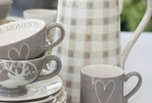 Lovely cups and plates