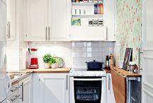 小さなキッチン