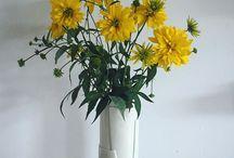 Taylor Ceramics Instagram #bouquetoftheday  #handbuilt #porcelain  #yellow  #taylorceramics