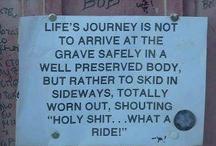 Words of wisdom?