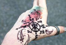 Paint Splash Tattoos
