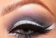 Purple N Grey Smokey Eye using my Hard Candy Palette