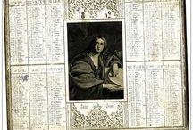 calendrier  1852