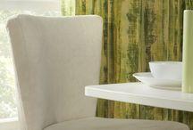Upholstery ranges from Edmund Bell