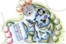 Детские площадки / чертежи, изготовление